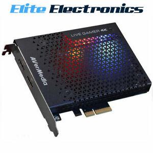AVerMedia GC573 Live Gamer 4K PCI-E Capture Card Record 4K HDR 60 FPS