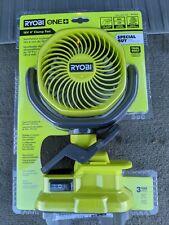 RYOBI 18V Portable Fan with Clip ryobi pcf02