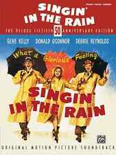 """DEBBIE REYNOLDS """"SINGIN' IN THE RAIN"""" PIANO/VOCAL/GUITAR CHORDS MUSIC BOOK NEW!!"""