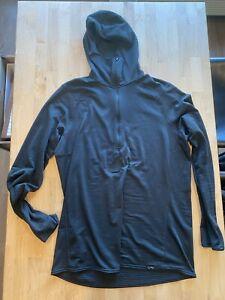 Patagonia Capilene Thermal Weight Zip-Neck Hoody Mens XL Black 43667 R1 Fleece