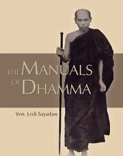 THE MANUALS OF DHAMMA - SAYADAW, LEDI - NEW PAPERBACK BOOK