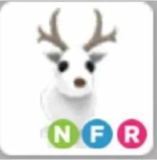 Neon Fly Ride NFR Arctic Reindeer Roblox Adopt me