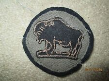 WWI US Army 92nd Division patch wool