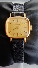 B RARE VETTA VINTAGE GOLD WATCH MANUAL WINDING 18K MONTRE OR REMONTAGE MANUEL