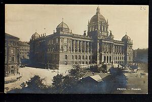 CZECHOSLOVAKIA 10-PRAHA -1925 Museum (Real Photo (RPPC)