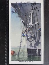 No.11 PAINTING SHIP - Life in the Royal Navy - Wills Ltd 1939