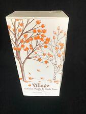 Department 56 Village 52655 Halloween Autumn Maple & Birch Trees Mint in Box!