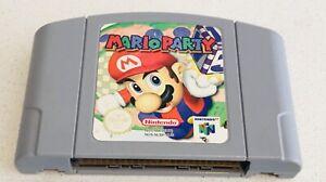 Mario Party Nintendo 64 Excellent Condition AUSTRALIAN PAL FREE POST!!!!