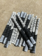 13x Golfpride NEW DECADE Multicompound Golf Club Grips White And Black