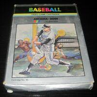 Vintage Arcadia Baseball Video Game Cartridge 15 2001 Emerson RARE