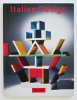 Italian Design. Taschen 1994 (I edizione) – Memphis, Sottsass, Bellini, Mari
