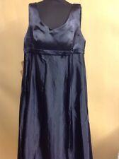 JenJen House Maternity Bridesmaid Dress Navy Blue UK Size 18 W