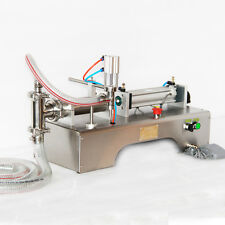 PNEUMATIC  LIQUID FILLING MACHINE FOR SHAMPOO,OIL,WATER PERFUME 90-1000ML
