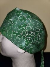 St. Patrick's Day Shamrocks - Surgical Scrub Hat - Unisex