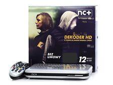 Zestaw TnK START+, na 12 miesięcy z Reciver ITI2850 NC+, Telewizja TVN HD TVP