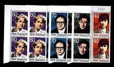 NEW ZEALAND - NUOVA ZELANDA - 1989 - Scrittori
