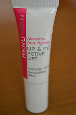SALE RenuSkin advanced anti-ageing lip and eye active lift cream travel size 7ml