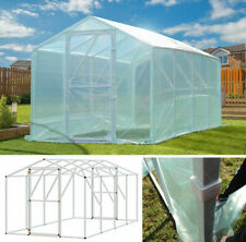 Greenhouse garden tomato house foiling plant house polytunnel 200x400cm