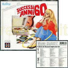 L'ALBUM DI SUCCESSI DEGLI ANNI 60 - DOPPIO CD 1987 FUORI CATALOGO