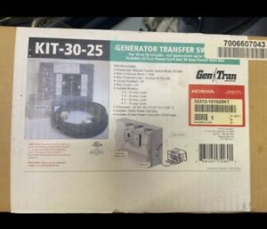 Honda Generator Transfer Switch Kit 32312-101025KT