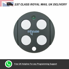 Mhouse GTX4 Gate Remote Control Fob for Electric Gates Barriers Garage Doors