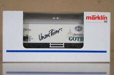 Marklin Märklin 4415 k8092 Unser BIER BRAUEREI Gotha Bierwagen Vagón cerveza