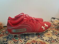 Under Armour Nitro Spine Football Cleats Low Red 3021760-602 Mns Sz15