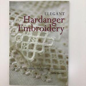 Embroidery Reference Book Elegant Hardanger Yvette Stanton Needlework technique