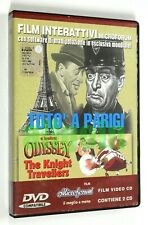 DVD INTERATTIVO TOTO' A PARIGI + ODYSSEY THE KNIGHT TRAVELLERS Microforum 2001