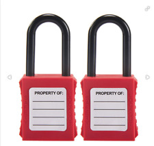 Holulo Keyed Different Lockout Tagout Safety Padlock For Chemical Electric Indus