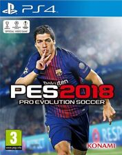 PES 2018 Pro Evolution Soccer Ps4 PAL Region Game