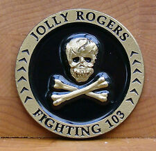 VFA-103 Jolly Rogers Challenge Coin FIGHTING 103