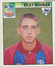 N°138 RICKY NEWMAN CRYSTAL PALACE Premier League 1995 MERLIN STICKER VIGNETTE
