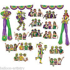 Martedì grasso Carnevale Festa Scena Setter Add-On Puntelli-Revellers & Jesters