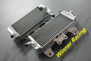 Aluminum alloy radiator YAMAHA YZ/WR 450F YZ450F WR450F 450 F 2007-2009 2008