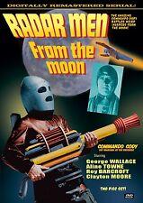 RADAR MEN FROM THE MOON- Cliffhanger Serial DVD with Extras- ROCKETMAN