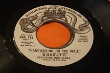 Ex Rare Northern Soul 45 : Novelty / Ron Clark ~ Long Time Waiting ~ Poison Ring