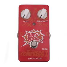 Biyang CO10 compresser x baby boom compresseur pédale forte pour guitare / bass