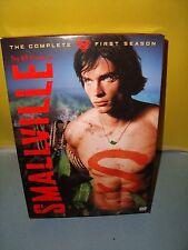 Smallville - Season 1 DVD, 2003, 6-Disc Set Superman DC Comics Television Show