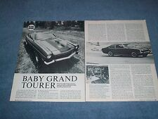 "1974 Chevy Vega Gt Hatchback Taglio Vintage Road Test Info Articolo "" Baby Grand"