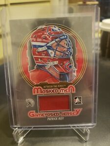 2013 ITG Between the Pipes Spring Expo Masked Men Patrick Roy Jersey BTPR-52