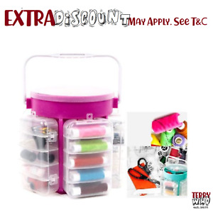 Multi Function Sewing Kit  Collection Custom Thread Needle Storage Caddy
