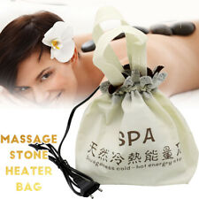 Electric SPA Massage Heater Rock Bag Large capacity Hot Warm Energy Lava Stone