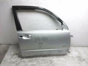 2003 2004 2005 Toyota 4Runner Front passenger door 67001-35512 Silver, scratches
