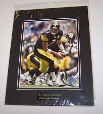 Ben Roethlisberger 11x14 Matted Photo w/Name Plate Pittsburgh Steelers