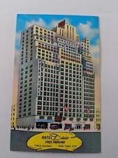 POSTCARD Hotel Dixie Times Square New York c1974 O-1 (2)