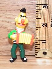 "Muppets 1982 Sesame Street ""Bert Playing the Accordion"" Pvc Figure Only *Read*"