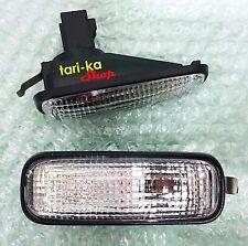 Side Marker Turn Signal Lights Lamp Clear Lens For 1996-2000 Honda Civic CR-V 97