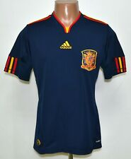 SPAIN 2010/2011 THIRD FOOTBALL SHIRT JERSEY ADIDAS SIZE S ADULT