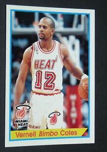 #61 VERNELL BIMBO COLES MIAMI HEAT PANINI BASKETBALL NBA USA 1994-1995 94-95